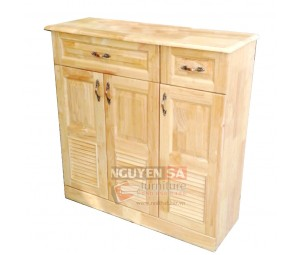 Shoe storage cabinet by wood (3 doors)